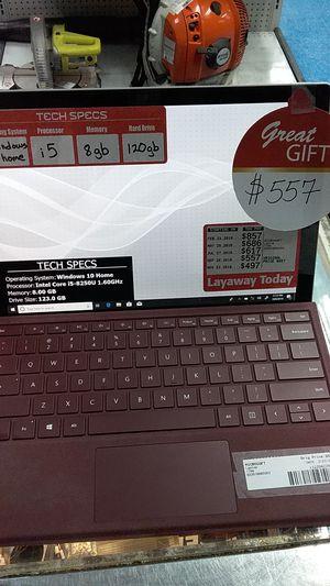 Microsoft surface pro 1796 laptop for Sale in Pompano Beach, FL