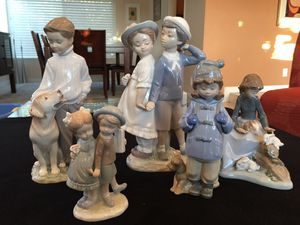 Five Lladro Figurines for Sale in Irvine, CA