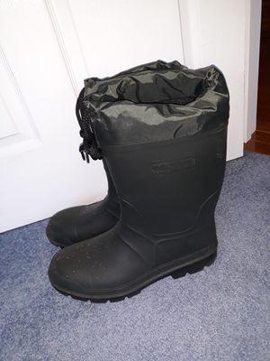 Mens brand new dark green rain boots for Sale in Gig Harbor, WA