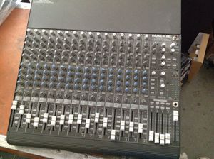 Mackie 1604Vlz Pro mixer for band / Dj ... Made in the USA version like new conditions. Call or text 4O8 499 97OI to purchase for Sale in Litchfield Park, AZ