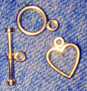 3 charms (for bracelet) for Sale in Portland, OR