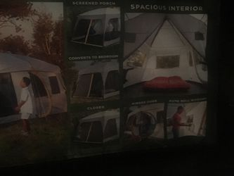 New never used 10 person tent Coleman 16ft by 10ft. for Sale in Gainesville,  VA
