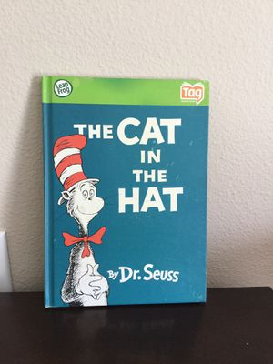 LEAPFROG THE CAT IN THE HAT TAG HARDBACK BOOK for Sale in Murrieta, CA