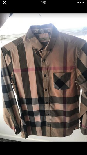 Burberry Mens Shirt (Authentic) for Sale in Santa Clara, CA