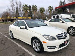 2012 Mercedes-Benz C-Class for Sale in Sacramento, CA