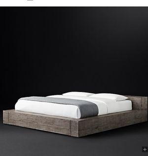 "Barely used Restoration Hardware Bed frame ""King"" for Sale in Tampa, FL"
