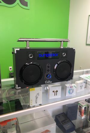 Boom box Bluetooth speaker for Sale in Manor, TX