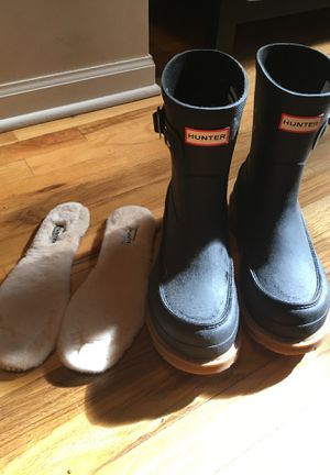 Hunter rain boots size 9 for Sale in Chicago, IL