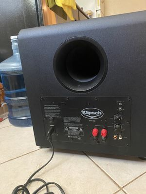 Subwoofer klipsch SW-450 for Sale in Fresno, CA