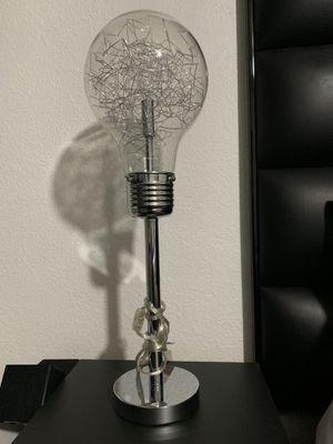 Lightbulb table lamp for Sale in Las Vegas, NV