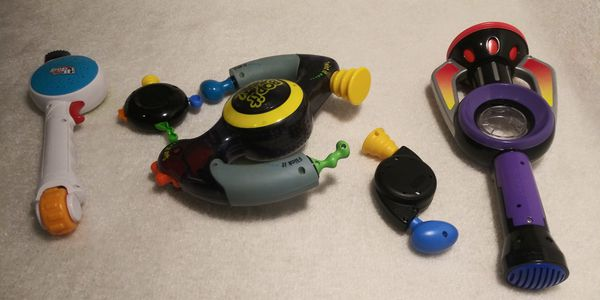 Lots of Bop it Bop It's and a Top It! Now can you Top That?