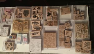 Lot of rubber stamps for Sale in Joliet, IL