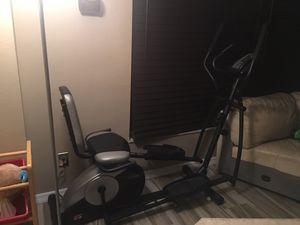 Elliptical and bike -Pro Form $100obo for Sale in Oldsmar, FL