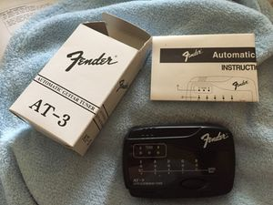 Fender AT-3 automatic guitar or bass tuner for Sale in Falls Church, VA