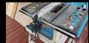 """Delta portable 10"""" contractors table saw for Sale in Walnut Hill, IL"""