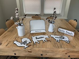 Farmhouse kitchen decor for Sale in Pflugerville, TX