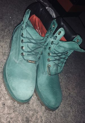 Winter green limited edition timberlands for Sale in Beaverton, OR