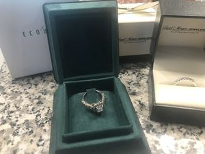 Engagement Ring & Wedding Band Set for Sale in Dacula, GA
