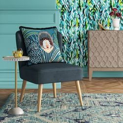 Opalhouse Chelidon Velvet Slipper Chair for Sale in Orange,  CA