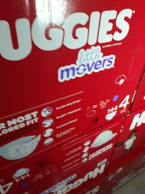 HUGGIES LITTLE MOVERS SIZE 4 $33 CADA UNO PRECIO FIRME for Sale in Santa Ana, CA