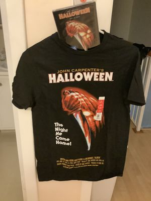Halloween graphic T shirt +dvd for Sale in Miami, FL