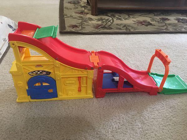 Car slide toy