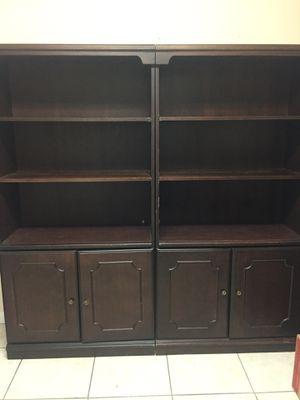 Wood bookshelves for Sale in Hialeah, FL