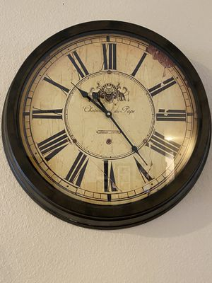 """""""Antique"""" Looking Wall Clock for Sale in Fontana, CA"""