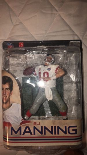 McFarlane Toys Eli Manning Action Figure for Sale in Morgan Hill, CA