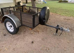 Small utility trailer - heavy duty- 2000lb axle - 4x5 foot / 4'x5' for Sale in Chandler, AZ