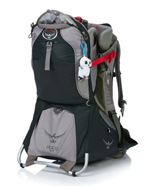 Osprey Poco Plus Child Carrier Pack, Koala Grey for Sale in Raleigh, NC