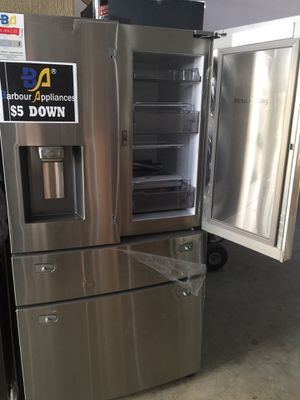 New refrigerator Samsung 1299$ one year same price for Sale in Houston, TX