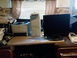 Desktop computer and printer for Sale in Winter Haven, FL