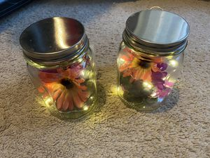 Mason Jar Decorative Lighted Flowers for Sale in Lakeland, FL