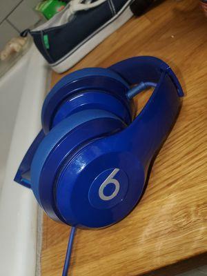Blue Dr. Dre Beats Headphones for Sale in Tucson, AZ