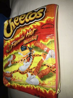 """REAL """"HOT CHEETOS AND DORITOS"""" Make up Bags (9-1/2"""" X 7"""") for Sale in Downey, CA"""