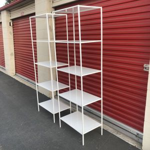 5-Shelf metal Tower Display, White modern for Sale in Montclair, CA
