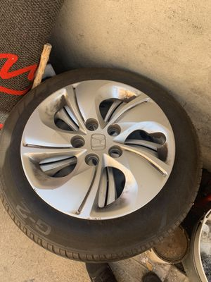 "HONDA CIVIC WHEELS 195/65/15"" $90 for Sale in Stockton, CA"