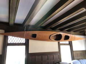 Handmade wooden kayak for Sale in Greenwich, CT