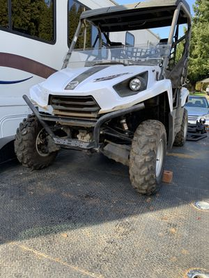 2013 Kawasaki teryx 750 698miles runs great clean title in hand for Sale in Vancouver, WA