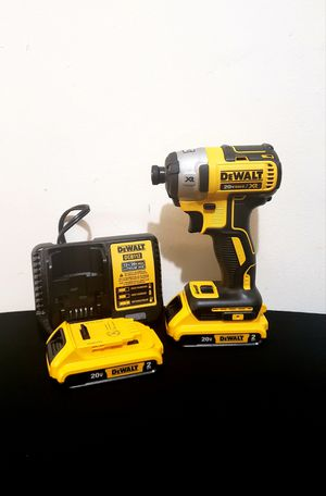 New Impact Drill Dewalt MAX XR whit (2)Batteries 2.0AH and Charger FIRM PRICE for Sale in Woodbridge, VA