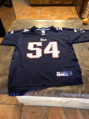 NFL Patriots Jersey Bruschi for Sale in Glendale, AZ