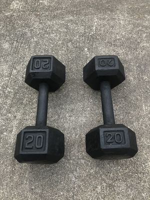 Dumbbells 20lbs for Sale in Houston, TX