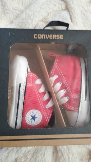 Converse- First Star Hi Red for Sale in Denver, CO