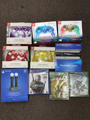 EVERYTHING BUNDLE $100 Nintendo ps4 and Xbox items all new in plastic for Sale in Fresno, CA