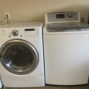 🔛WASHER➕GAS DRYER 🔛 FREE INSTALL ➕EQUIPMENT SAME🖊NEXT DAY DELIVERY 🔛60 DAYS WARRANTY🔛 for Sale in Houston, TX