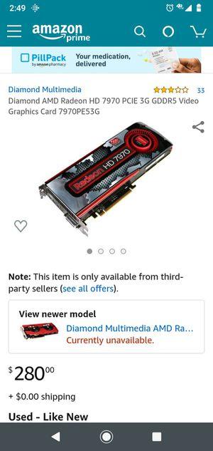I have diamond Radeon HD 7970 for Sale in Seattle, WA