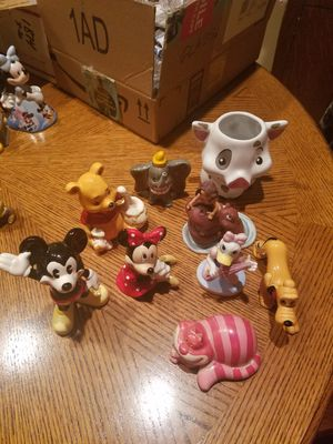 Disney porcelain figurines for Sale in Fairview, OR