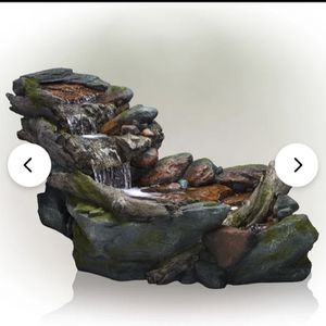 Stream Style Fountain With Led Lights for Sale in Bell, CA