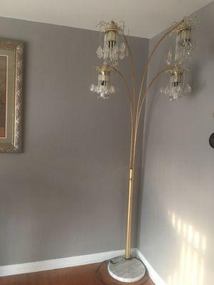 Gold Rain Drop Arc Floor Lamp 84' for Sale in Wichita, KS